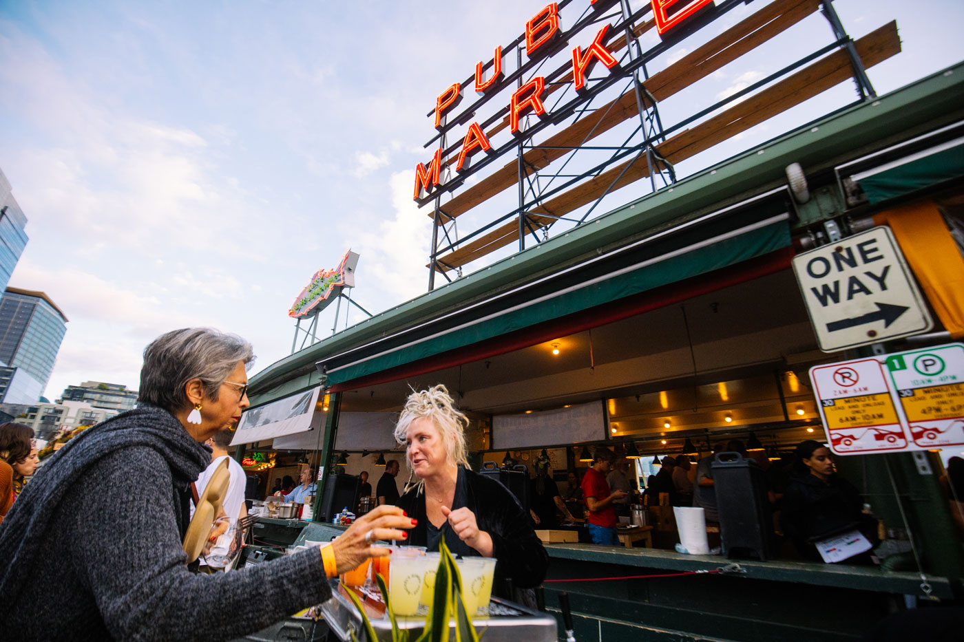 Sunset Supper At Pike Place Market Pike Place Market