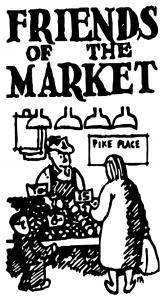 Friends of the market logo